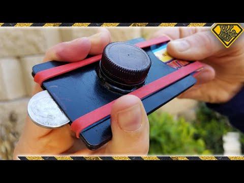 DIY Gift Card Coin Launcher