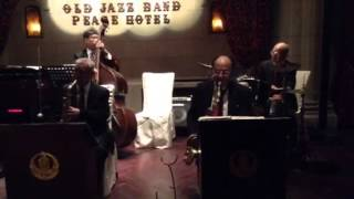 The Old Jazz Band at the Peace Hotel in Shanghai.