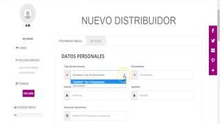 Como registrar tu  aun nuevo distribuidor en 1Fashion Global Group