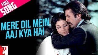 Mere Dil Mein Aaj Kya Hai - Full Song | Daag | Rajesh Khanna | Sharmila Tagore