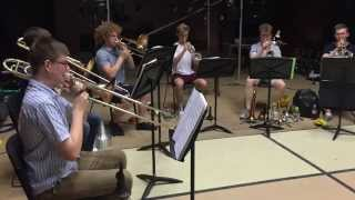 NYMT Sweet Charity brass sectional
