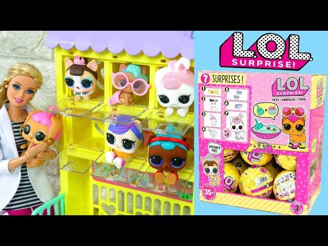 LOL Überraschung Haustiere Serie 3 Volle Box - Spielzeug Welpen Kätzchen Kaninchen LOL SURPRISE