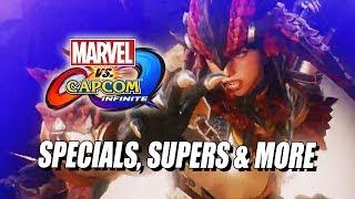 MONSTER HUNTER - Dev Breakdown w/Specials & Supers (Marvel Vs. Capcom Infinite)