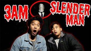 SLENDER MAN IN FORREST!! (3AM CHALLENGE!!)