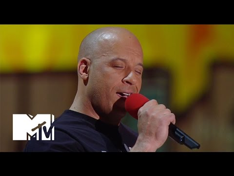 Xxx Mp4 Vin Diesel Sings 'See You Again' For Paul Walker At The Movie Awards MTV 3gp Sex