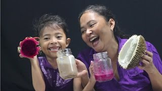 Smoothie Challenge Indonesia - super gross smoothies- durian,telor kampung dan saus sambal