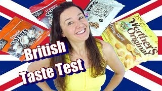 BRITISH SWEETS TASTE TEST Treacle Toffees and more