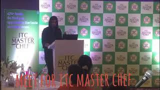 Vironika Sharma, hosting a bloggers meet for ITC Masterchef.
