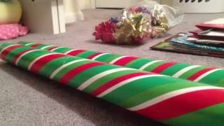 ASMR: Christmas Gifts and Wrapping Supplies Sounds