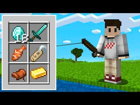 The LUCKIEST FISHING Loot EVER In Minecraft