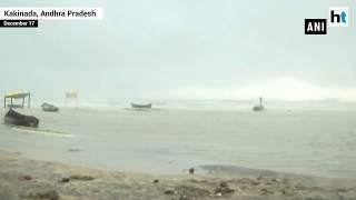 Cyclone Phethai lands in Andhra Pradesh