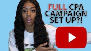 CPA Full Campaign Set Up? | Affiliate Marketing 2017 #PrintingMoney University
