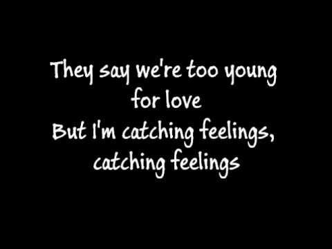 Justin Bieber Catching Feelings Lyrics