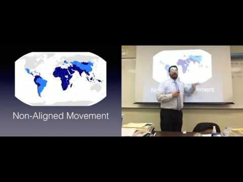 The Cold War: The Non-Aligned Movement