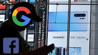 Dừng ném đá Huawei ! Vì cả Google và  Facebook còn lấy thông tin của bạn