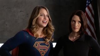 Supergirl - Welcome to Earth | official FIRST LOOK clip (2016) Lynda Carter Wonder Woman