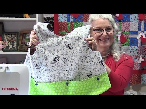 How to Make a Child's Reversible Apron