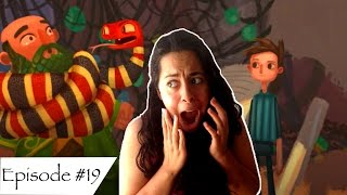 The Snake Saved His Life By Strangling Him?! - Broken Age #19