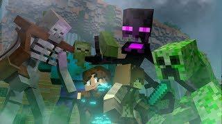 Survival Games Movie: The Mutant Assault! (Minecraft Animation)