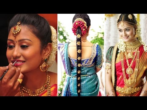 Xxx Mp4 South Indian Bridal Saree Draping With Bridal Makeup And Bridal Hairstyle Tutorial Marriage Makeup 3gp Sex