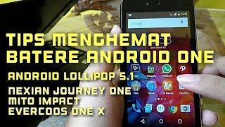 Tips menghemat batere di Android One Tanpa Root
