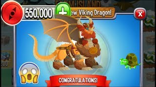 Dragon City - Viking Dragon [Farm Island | Completed 2018]