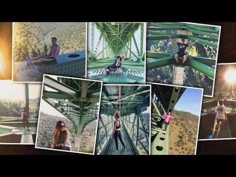 Xxx Mp4 Woman Taking Selfie Miraculously Survives Fall Off California S Tallest Bridge 3gp Sex