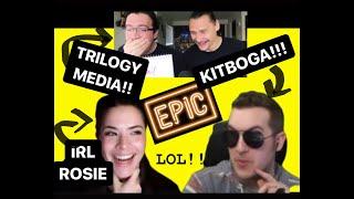 PART II - w/ KITBOGA & Trilogy Media! - Alexa, Granny Edna, Kim Kardashian, & MORE LOL