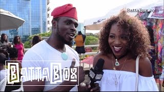 Nigerian Celebs BBQ Hangout On Lagos Rooftop
