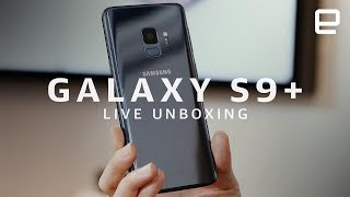 Samsung Galaxy S9 Plus Unboxing LIVE at MWC 2018