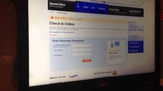 Southwest Airlines Checkin procedure