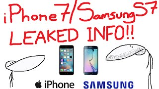 iPhone 7 & Samsung S7 -  LEAKED PHOTOS & DETAILS (Gone Sexual!)