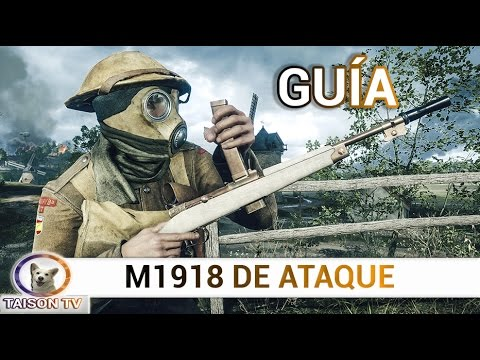 Battlefield 1 Automático M1918 de Ataque