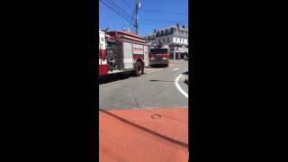 York Village ME Fire Engine 4 & Truck 8