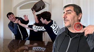 MOM CATCHES DAD WITH A HICKEY! *FREAKOUT CAUGHT ON CAMERA*