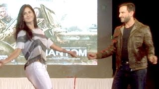 Katrina Kaif's Belly Dance in Public During Phantom Promotions