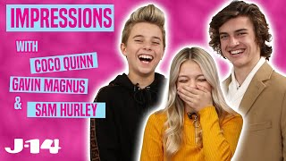 Gavin Magnus, Coco Quinn, and Sam Hurley Do Impressions of Kylie Jenner and More!