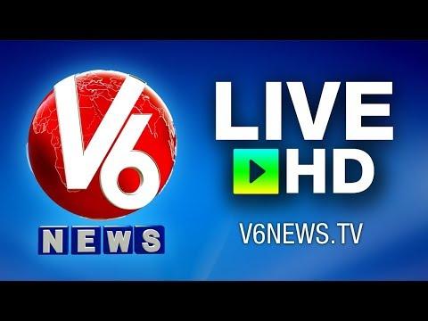 Telugu Live News by V6 News Channel