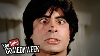 Amitabh Bachchan trying to catch fly - Namak Halal - Comedy Week Exclusive