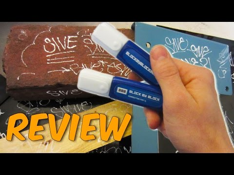 Block By Block Correction Pen Review and Surface Test