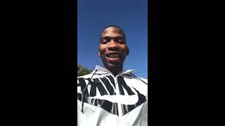 """BlocBoy JB Turns Up At Hillcrest High School , Students Go Wild to His Hit Single """"Shoot""""."""