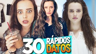 30 CURIOSIDADES de KATHERINE LANGFORD (13 REASONS WHY)