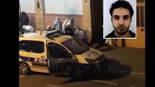 """شاهد: اللحظات الأولى لمقتل """"شريف شيخات""""منفذ هجوم ستراسبورغ برصاص الشرطة الفرنسية"""