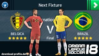 Belgium🔥 vs ⚡Brazil quarter final game play download now profile.dat