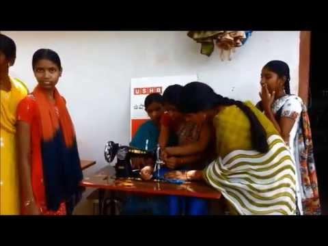 Usha Silai School: Silai School in Andhra Village