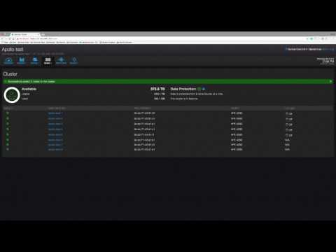 Qumulo Core Demo Node Add on HPE Apollo 4200 Gen9 Server Cluster