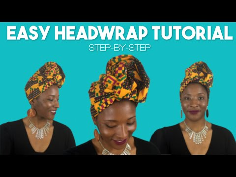 Easy Headwrap Style | Step-By-Step Tutorial