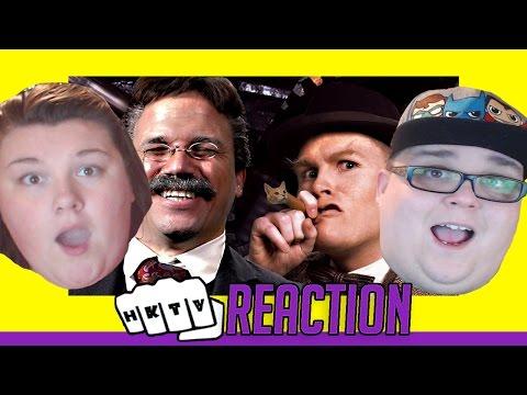 THEODORE ROOSEVELT vs WINSTON CHURCHILL. Epic Rap Battles of History ERB REACTION 🔥