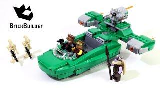 Lego Star Wars 75091 Flash Speeder - Lego Speed Build