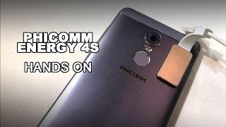 MWC 2017: Phicomm Energy 4S - 159 € Smartphone mit Fingerabdrucksensor im Hands On